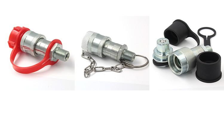 """3//8/"""" NPT hembra acoplador Hidráulico Enerpac compatible Válvula de bola ISO14540"""