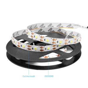 DC12V/24V Waterproof Flexible RGB SMD 2835 Led Strip For Christmas