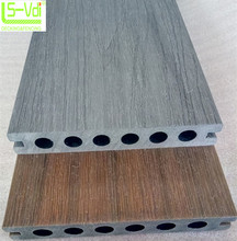 Co-estrusione di Plastica di Legno Decking Composito 140*22mm PE Materiale