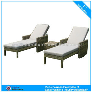 HA - lounger in synthetic rattan 7016-2