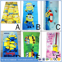 China wholesale cotton minion towel with low price