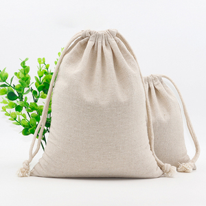 Wholesale Cambel Cotton Linen Rice Vegetables Package Pouch Bags
