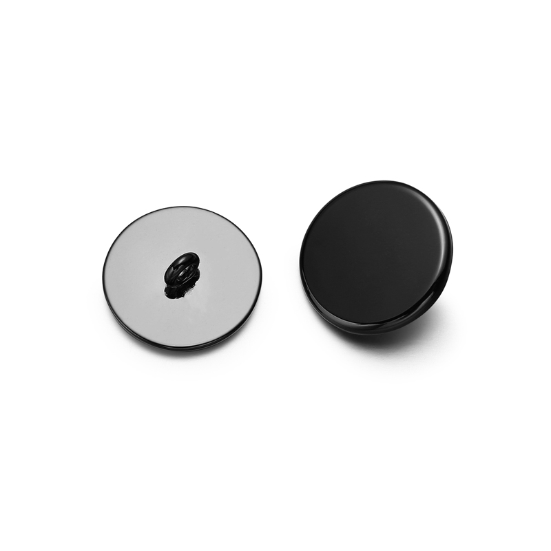 Wholesale Good Price Stock Black Metal Sewing Suit Buttons For Clothing