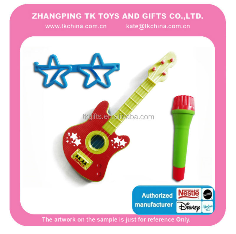 Kids Toy Guitar ,glasses and microphone ( Astm / En71 Standard )