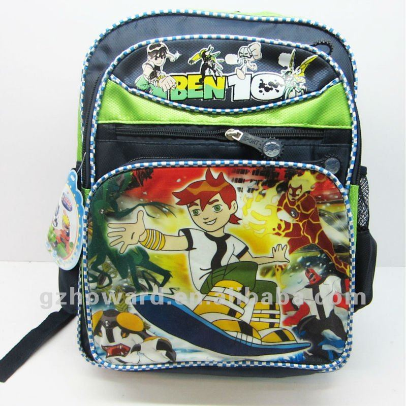 children satchel/ book bag clear book bag