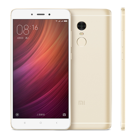 Original Redmi note 4 pro smartphone android RAM 4GB ROM 64GB Snapdrapgon 820 phones mobile gold silver