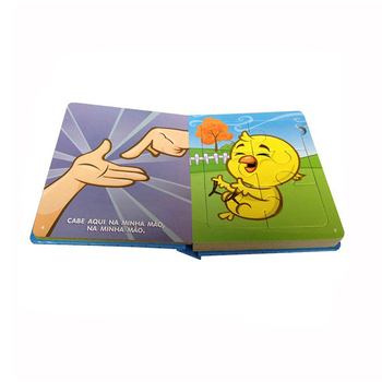 Custom Printed Children's Book Variety Illustrators Puzzle Story Book For Kids With CPSIA