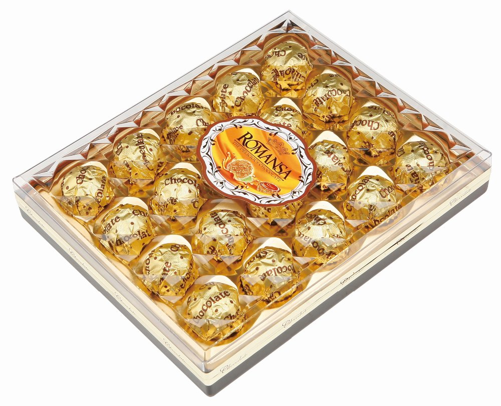 Hottest In Middle East Market Chocolate Wafer Ball Peanut Compound Similar to Ferrero Rocher 42PCS Box