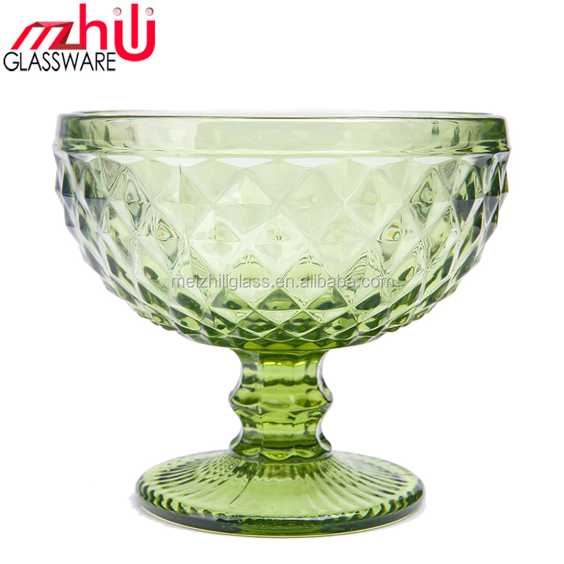 Factory promotion IB5004 9 ounce glass classic sundae dish