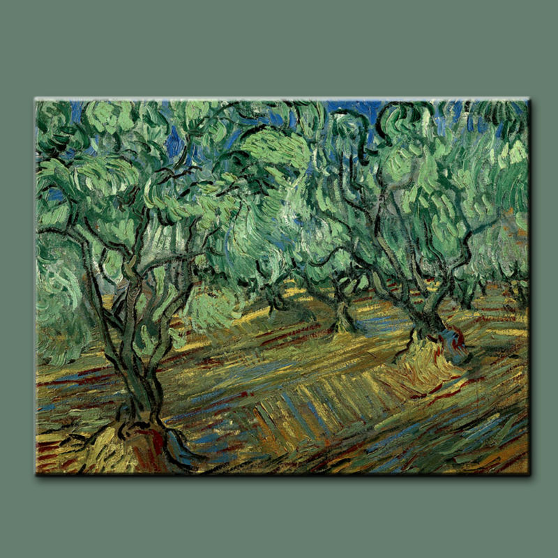 Famous art reproduction van gogh abstract paintings