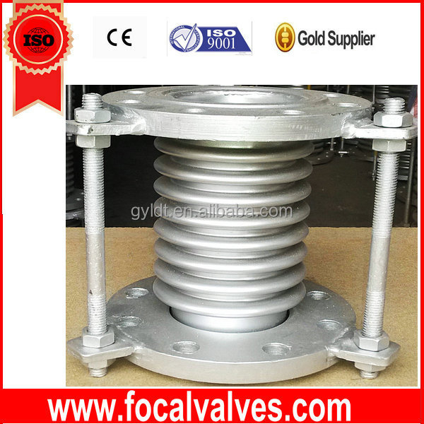 Flange Metal Expansion Bellows, Flexible Metal Braid Hose, Stainless Steel 304 Braid Hose