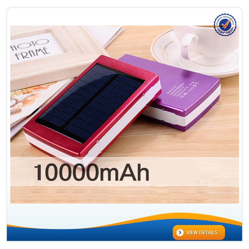 AWC710 10000mAh Portable Waterproof New Online Power Bank Solar Controller Charger