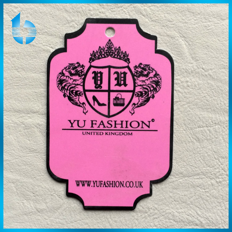 Direct factory manufactures brand label hangtag card for shoes