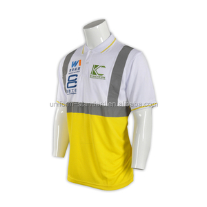 Ansi Class 3 En471 Hi Vis High Visibility Reflective Safety Clothing Polo Shirt Workwear