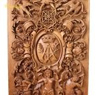 antique style solid wood hand carved woodcarving ornaments for furnitures and interiors