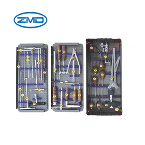 spine implant screw instrument set pedical screw Instruments Cannulated USS Spinal Instruments Sets