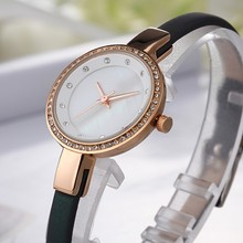 2017 Fashion Women Watches Leather Band Wrist Watches Ladies