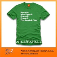 Good Fabric T Shirt With Word Printing On tShirts Clothing Manufacturers