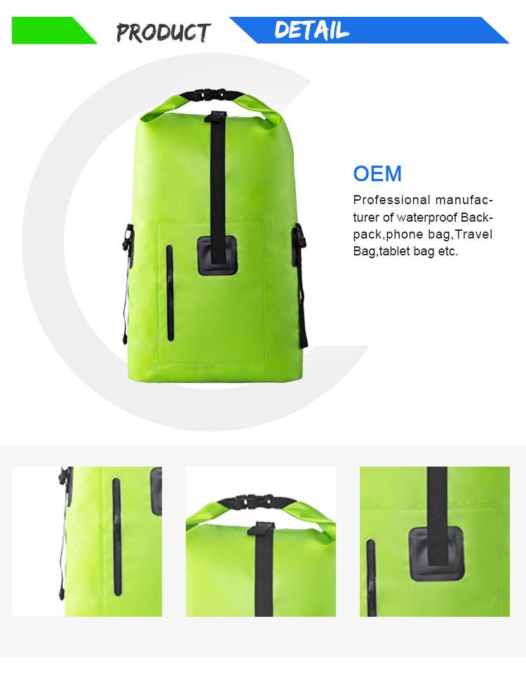 Randonnée sac de voyage pliable imperméable à l'eau sacs de collège étanche sacs à dos ordinateur portable sacs pour hommes