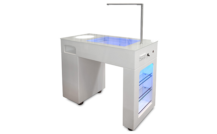 Station de manucure technicien d'ongle Salon manucure Table TKN-125L