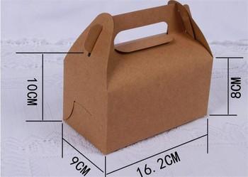Custom Design Coated Paper Take Way Packaging Box For Cake Dessert