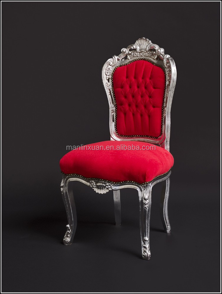 Antique Royal Wooden Carved Dining Chair Xd1025
