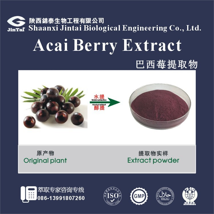 free sample organic acai berry bulk extract powder