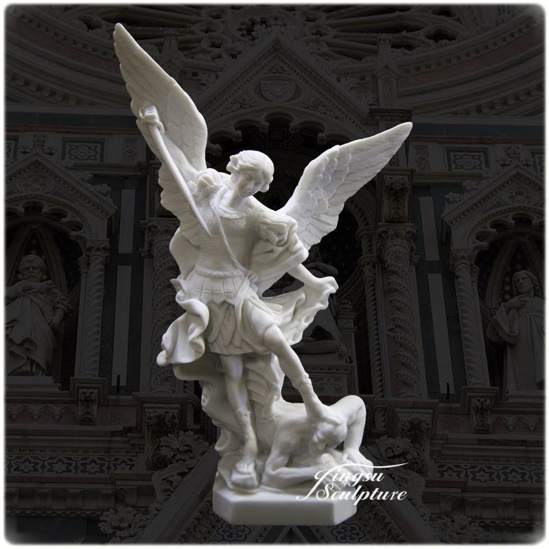 Delicieux Wholesale Stone Garden Products Michael Archangel Statue