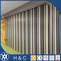 office use anti-static vinyl woven wall covering