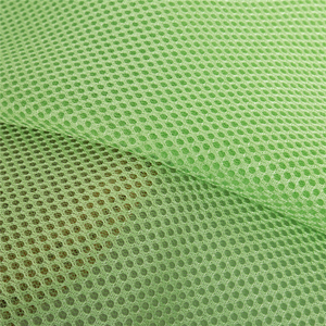 polyester air spandex fancy mesh fabric