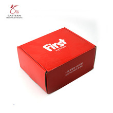 Custom Corrugated Paper Packaging Box for Children Shoes / Bright Color Children Shoe Packaging Box