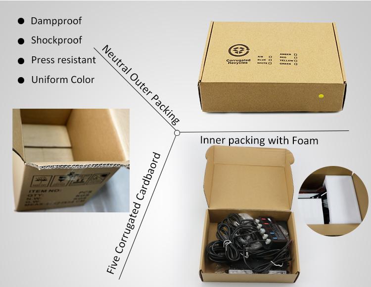 Lampu Sorot Kisi Flasher Peringatan Darurat LED dengan Remote Control Nirkabel LB1016-2