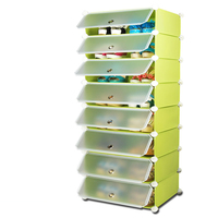 2014 High Quality Large Capacity Tall Storage Shoe Cabinet