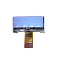 Monochrome LCD display 128x32 dots 0.8pitch,28PIN