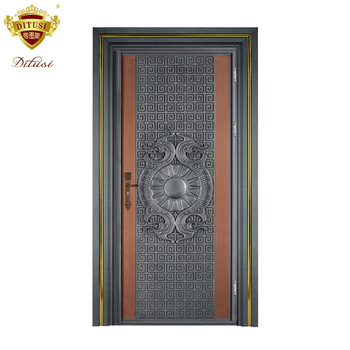 Indian Front Exterior Door Entry Main Entrance Security Steel Metal
