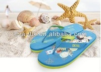 Fashion Flip Flops Fit On Beach Wearing Blue Colour Ladies Fancy Flip Flops