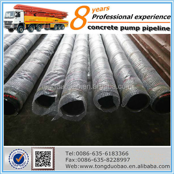 Hot sale schwing concrete pump delivery <strong>hose</strong> in Brazil