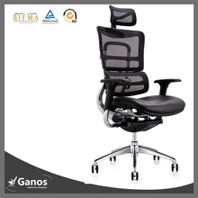 black leather ergohuman chair wire mesh office chair