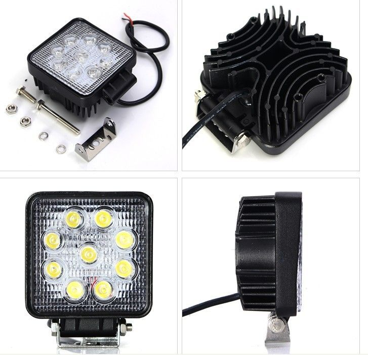 12v 24v 27w led work light