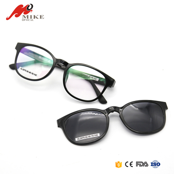 New Arrival Fashion Plastic Frames Clip On Magnetic Sunglasses - Buy ...