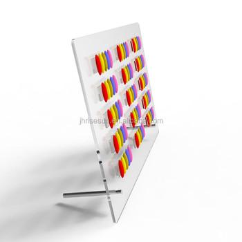Risesun Nail Art Design Display Board Nail Gel Polish Color Chart