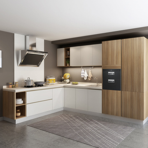 Alibaba China Professional Custom Kitchen Cabinet Factory