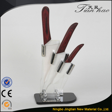 3 PCS Best Price ABS Handle Ceramic Knife Set Gift Box