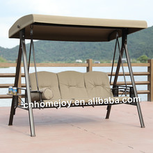 Wholesale price leisure garden swing, outdoor patio swing with canopy