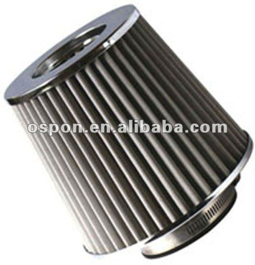 "3"" HIGH FLOW DRY CONE COLD AIR SHORT RAM INTAKE FILTER"