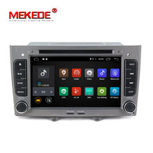 MEKEDE 7 pulgadas <span class=keywords><strong>SIM</strong></span> 4G android 8,1 quad core radio de coche android para Peugeot 308 Peugeot 408 con 2 + 16 GB wifi gps navegación mirrorring