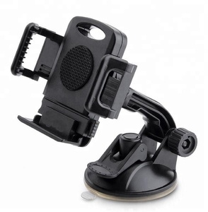 Car Phone Holder, Washable Strong Sticky Gel Pad with One-Touch Design Dashboard Car Phone Mount
