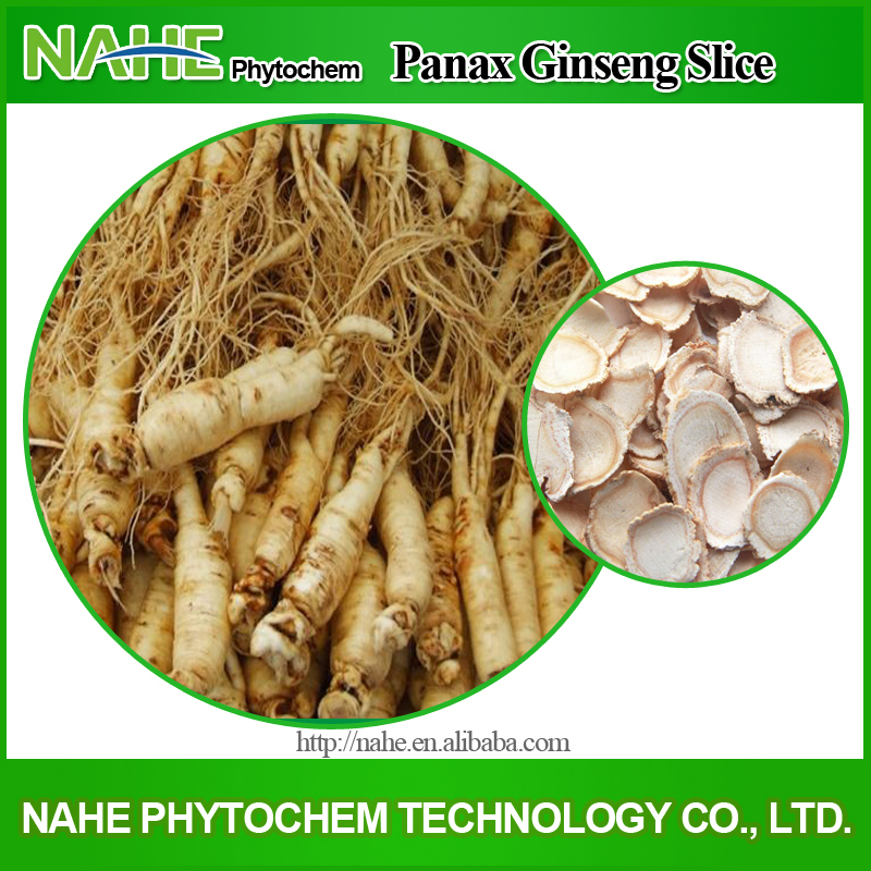 Herbal Tonic Dried Wild Ginseng Root,Ginseng Root Slice