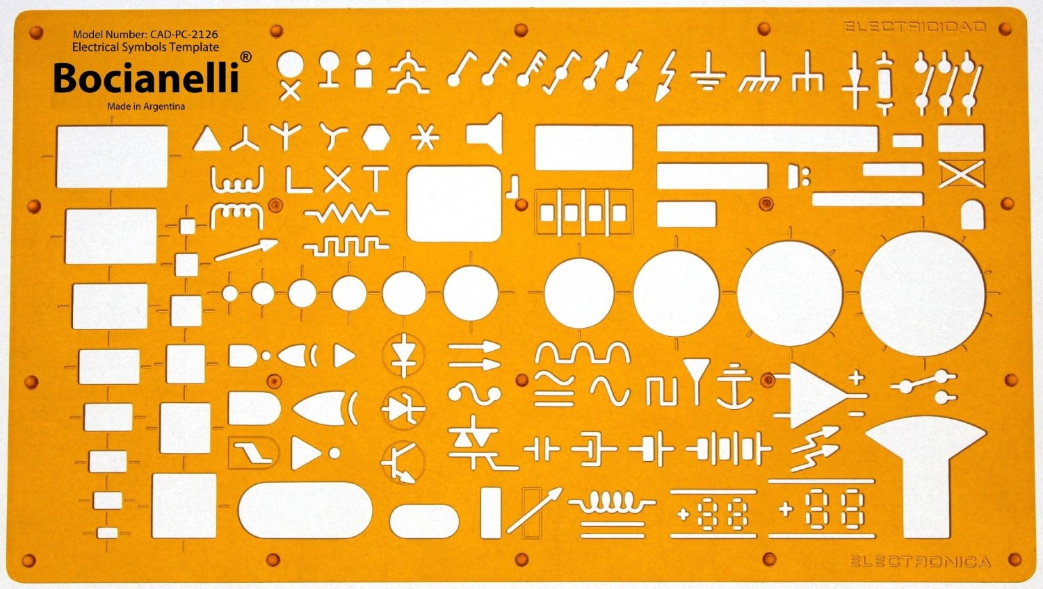 Buy Electrical And Electronic Installation Symbols Drawing Template E Plan Pictures Stencil Engineering Drafting Supplies Layout Schematic