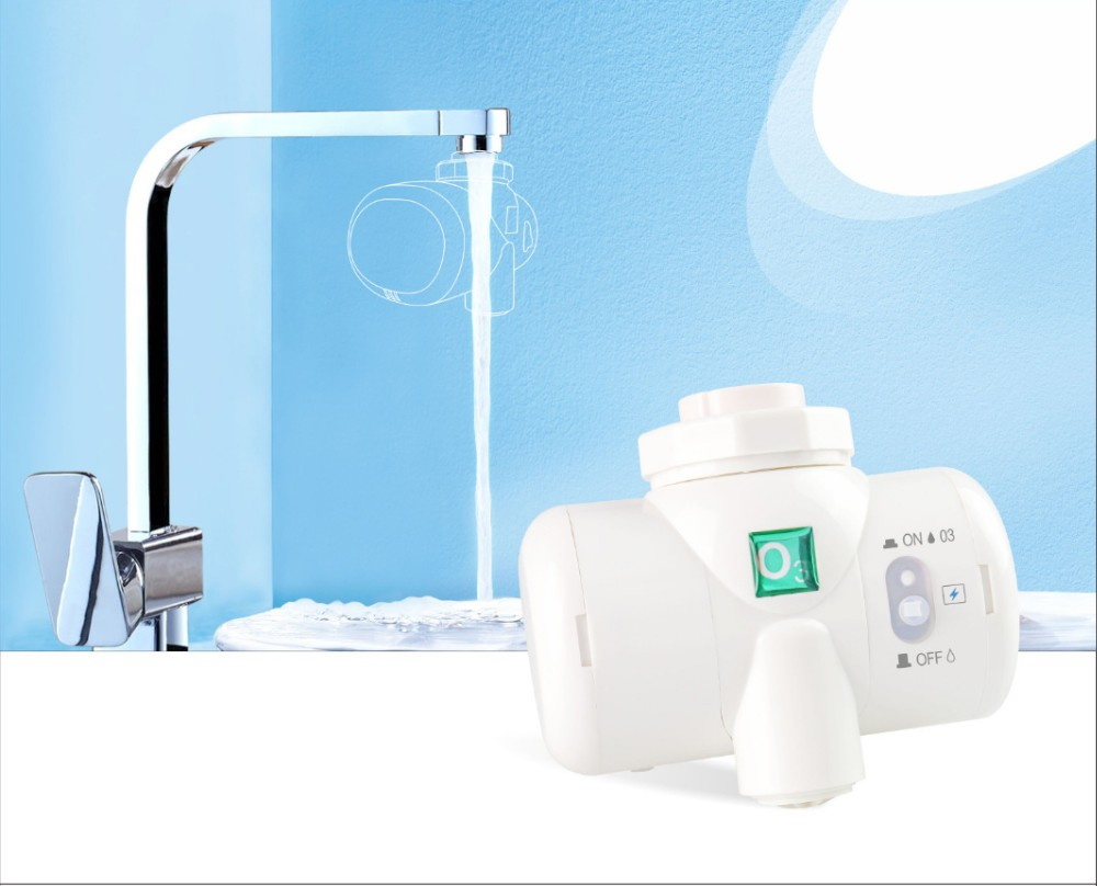 100% Ozone Sanitation System Ozone tap connected water filter portable faucet water filter centrifugal water filter oems